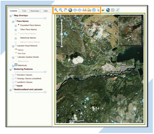 Blog post series on common features and elements in Geographic Information System GIS web applications and web maps, including the importance of users being able to customize the user interface of the application.