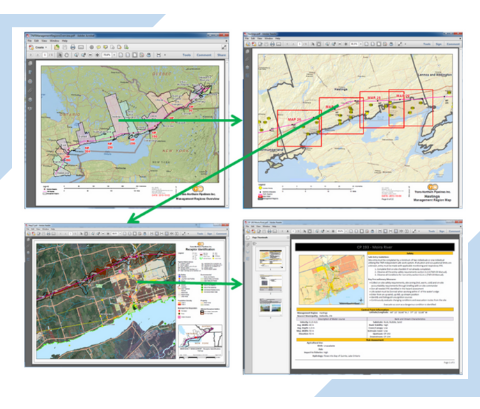 Blog post about streamlining Emergency Preparedness and Emergency Response practices with Geographic Information System GIS application technology.