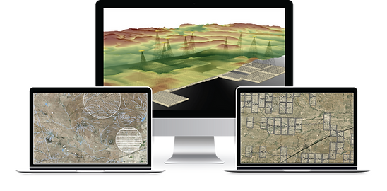 ArcGIS Add-In application developed by Integrated Informatics to optimize asset placement in an Oil and Gas field.