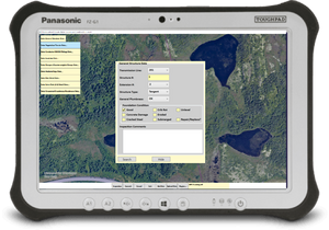 Mobile application for Utilities Asset Inspection used by Energy Field Crews in St. John's, NL.