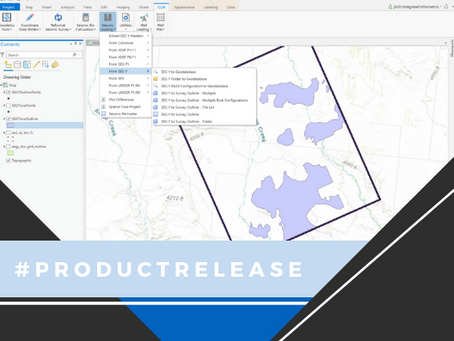 Introducing GDX for ArcGIS Pro: Seismic Surveys and Well Data Loading Goes Pro