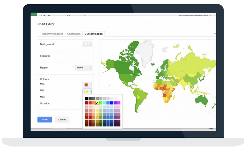 Article describing tools for creating interactive maps using Google Sheets.