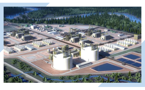 Article on the first major Liquefied Natural Gas LNG project approved globally in five years to be built in Canada.