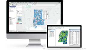 Blog post on the Integrated Portage software that is used to convert file formats for ArcGIS and Tableau.