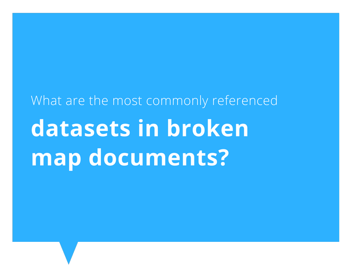 Blog series on reviewing spatial data and identifying broken files and issues, including creating heat maps for broken data sources.