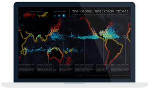 Article on data visualizations created in Tableau dashboards by the user community for the #IronViz competition.