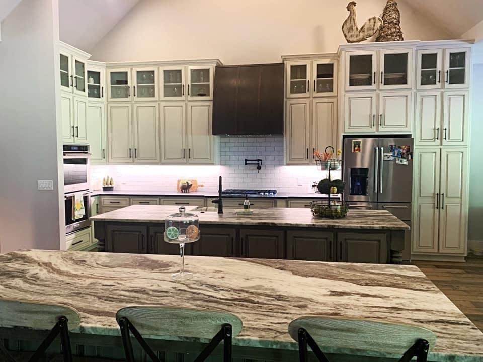 Kitchen Designed with 3D Design Center
