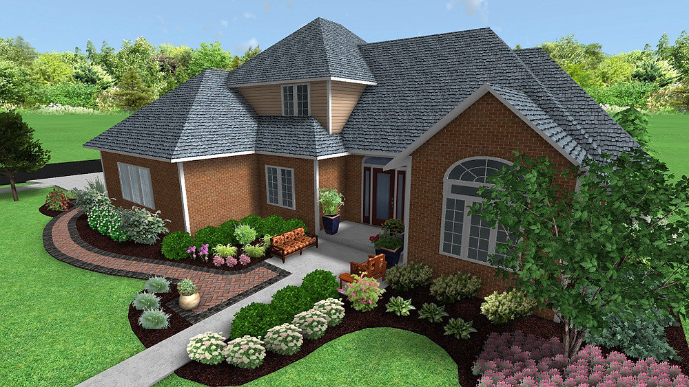 Welcoming new entry way in 3D