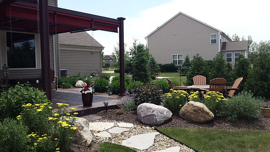 Landscaping, Containers, Flowers, Planting, Planters, Shrubs, Plants, Boulders, Mulch, Sod, Installation