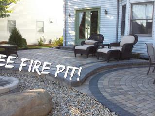 Free Fire Pit!
