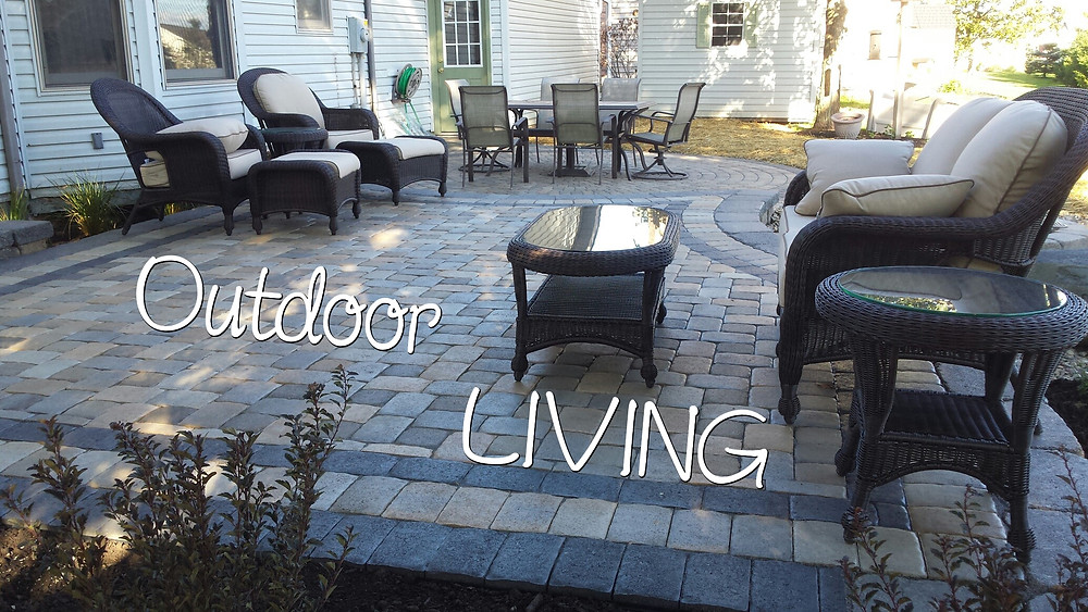 Relax on your paver patio