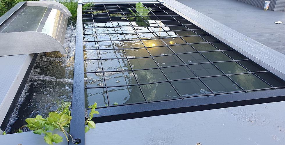 Iris Garden Aquarium Pond Safety Cover