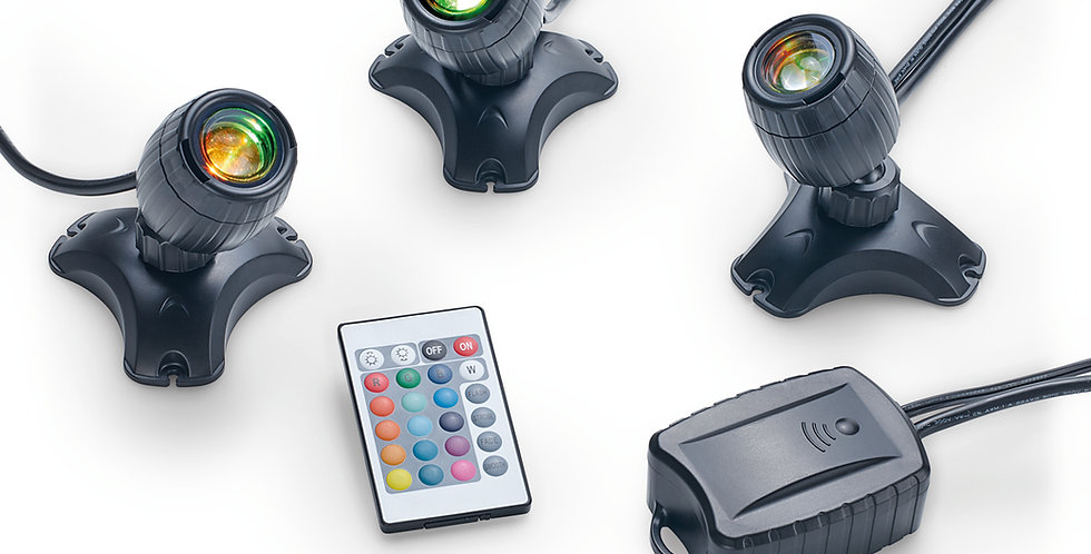 PondoStar Multi-colour Remote Control Lights Set 3