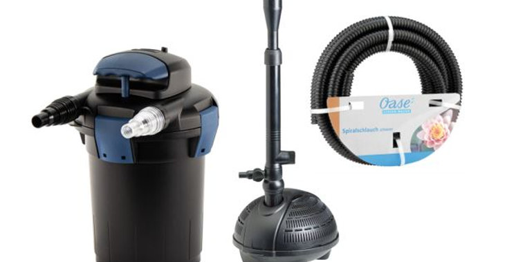 External Pump Set - PondoVario 2500, Biopress 4000 and 5m pipe