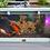 Thumbnail: **PRE OREDER** Seagrass Green Lotus Clear View Garden Aquarium - Two Windows