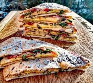 TORTILLE Z OMLETEM by Kuchnia Rozwodnika