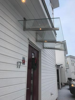 Entrétak i glas Stockholm