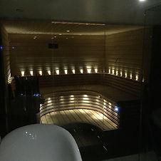 Glasbastu Stockholm glasdusch bastu i glas