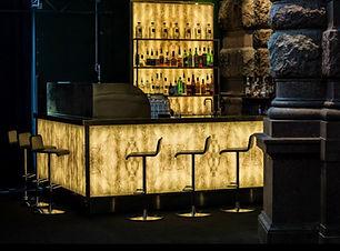 Glasbar Café Opera Stockholm bar i glas