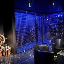 Vinkällare glasdörr vinrum glas