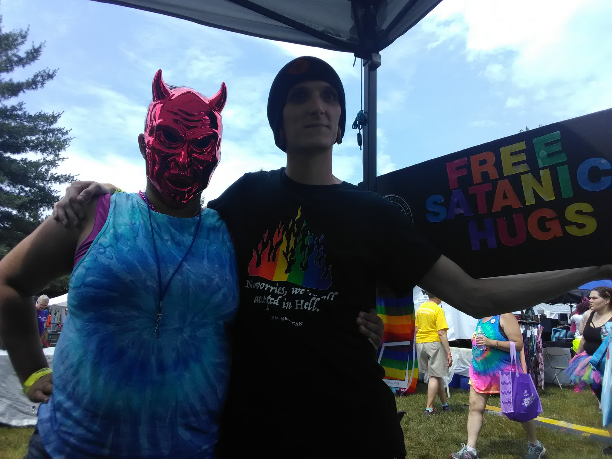 Satanic Hugs