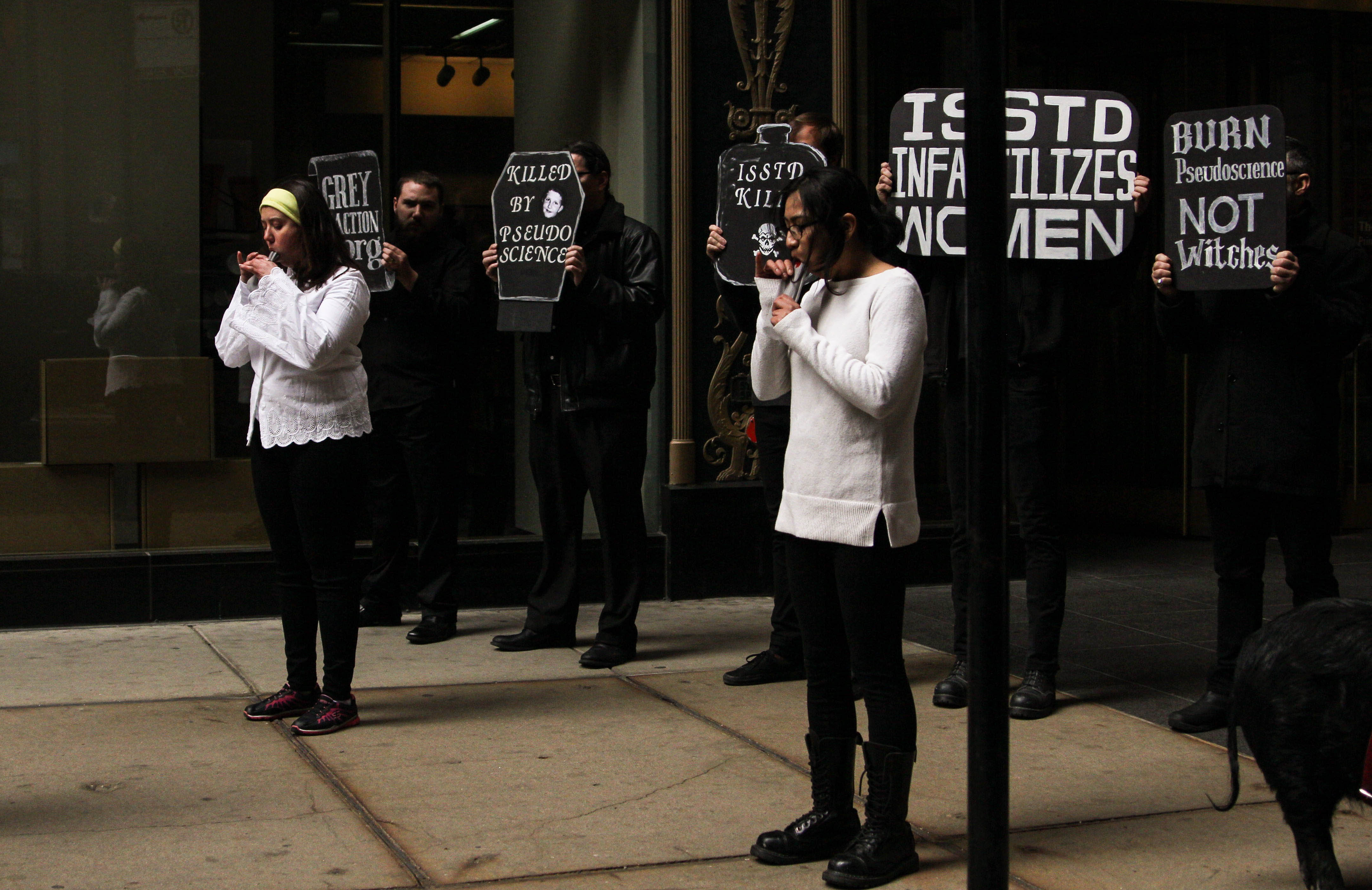 ISSTD Protest