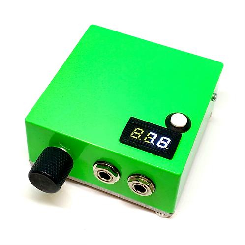 Neon green power supply