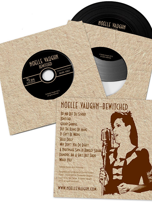 Bewitched Vinyl Effect CD