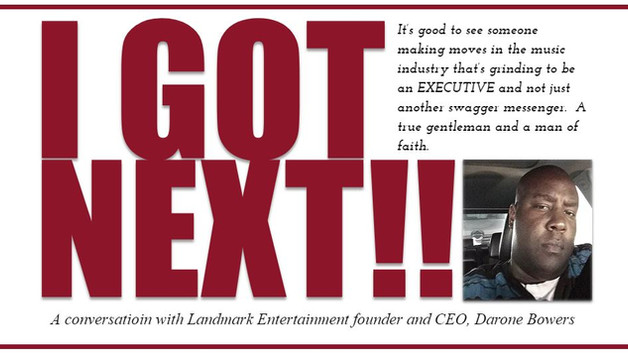 Darone Bowers: CEO and Founder of Landmark Entertainment