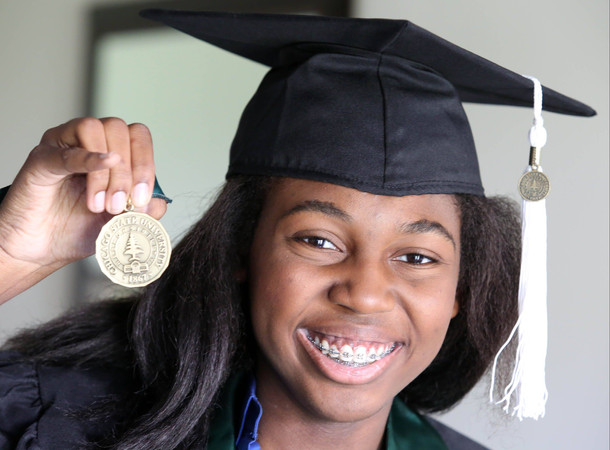 Teen Poised To Graduate With Degree In Psychology