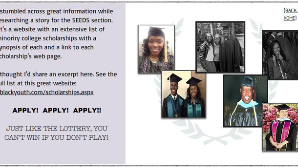 MINORITY COLLEGE SCHOLARSHIPS INFO