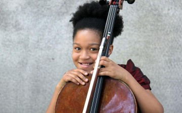 Sujari Britt: Kid Cellist With White House Show Under Her Bow