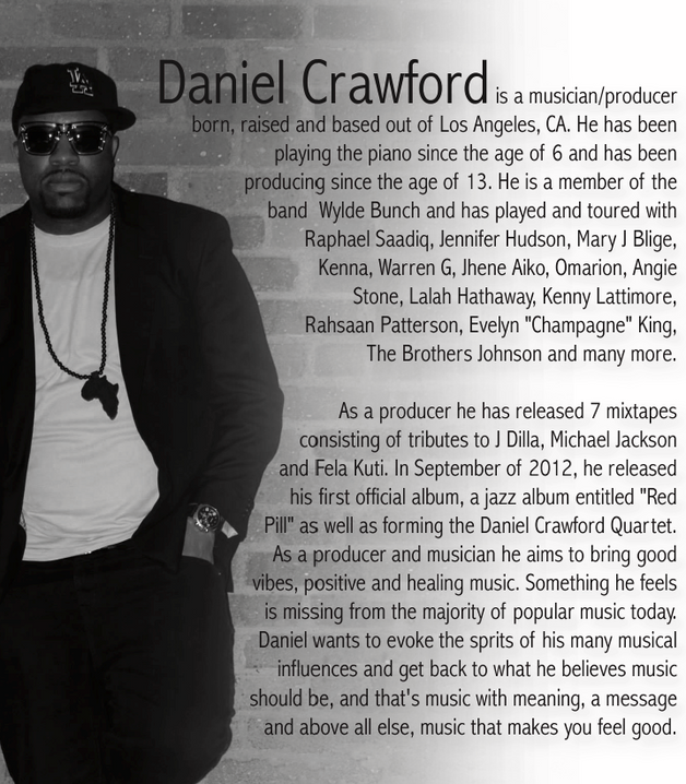 Producer and Musician: Daniel Crawford