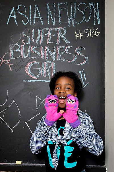 Meet Detroit's Youngest & Cutest Entrepreneur: 11-Yr. Old Asia Newson
