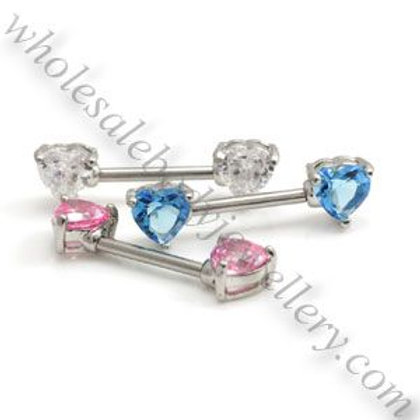 Heart Nipple Bar