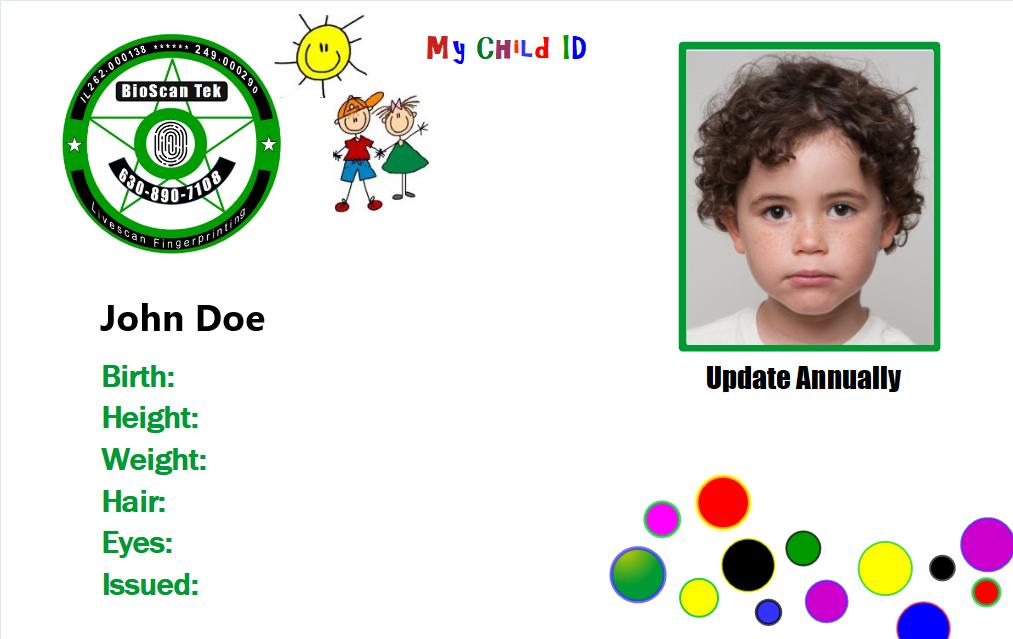 BioScan Tek My Child ID