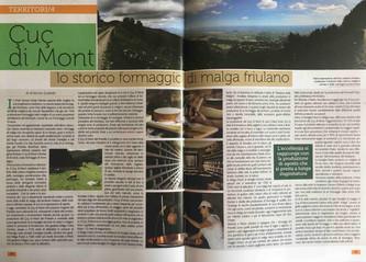Ḉuç di Mont - lo storico formaggio di malga friulano