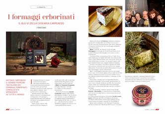 I formaggi erborinati: il Blu 61 della Casearia Carpenedo