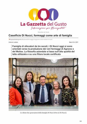 Caseificio di Nucci, formaggi come arte di famiglia