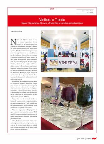 Vinifera a Trento: i viticoltori dell'arco alpino
