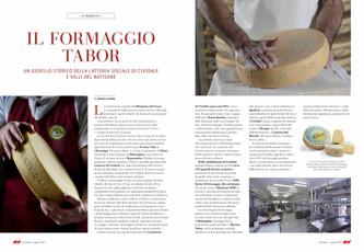 Il formaggio Tabor, orgoglio della tradizione Carsolina