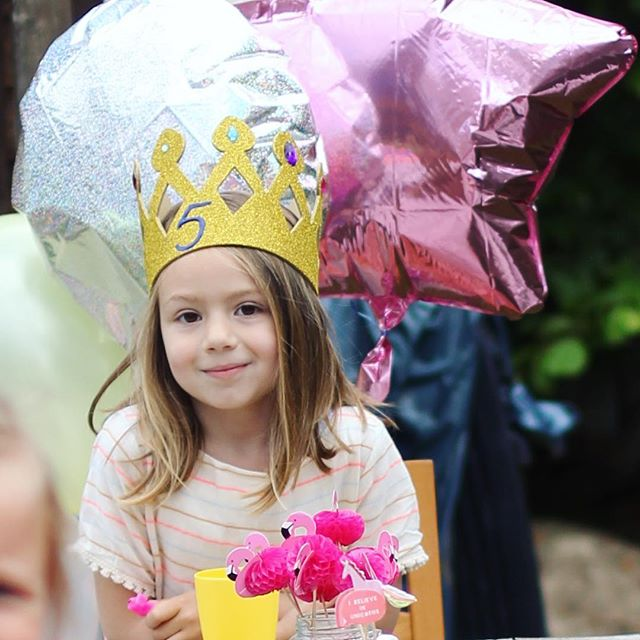Birthday girl #emilieturning5 #party