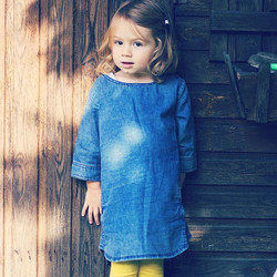 My denim girl #emilie #myurbanmini