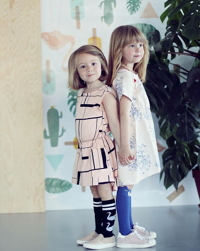 My girls for _urbanminishop #SS16shoot #