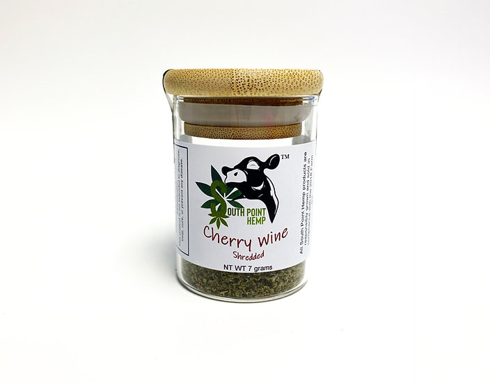 Cherry Wine 7g Shredded Container