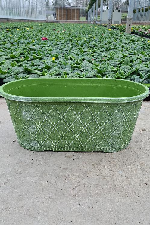 "16"" Prisma Oval - Powdered Moss Green"