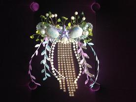 Dreaming Olypsis Periwinkle Seashell and Starfish Mermaid Costume Element