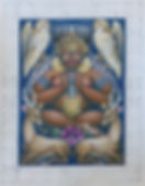 Moon Goddess, Goddess Series, copyright 2005 Areena Arjuna Estul.jpg
