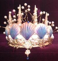 Dreaming Olypsis Periwinkle Seashell Mermaid Crown