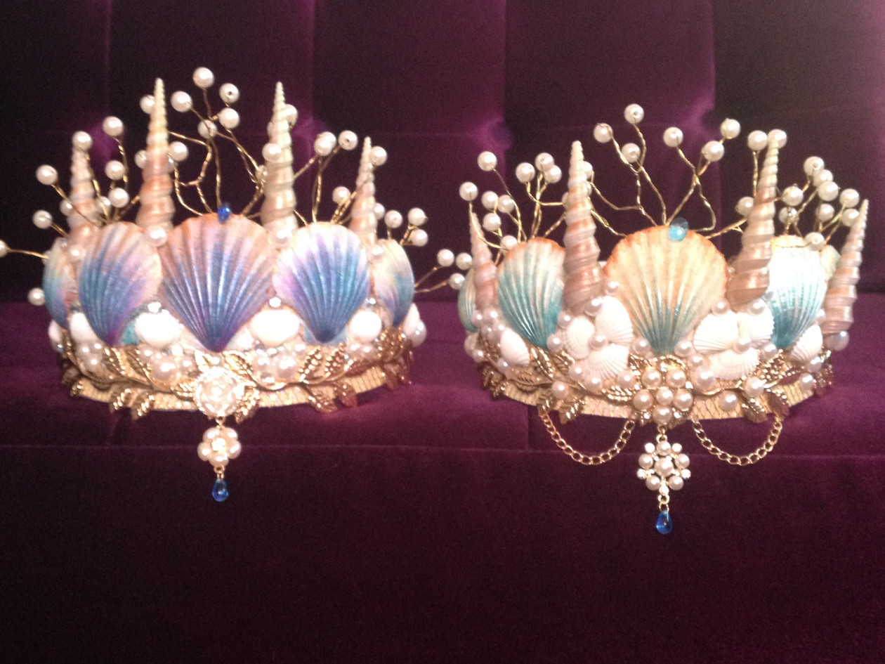 Dreaming Olypsis Seashell Mermaid Crowns